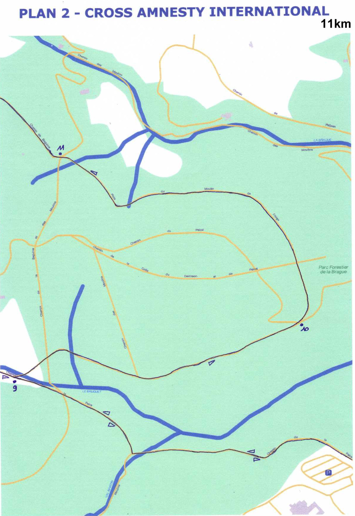 Zoom partie 2 du 11km