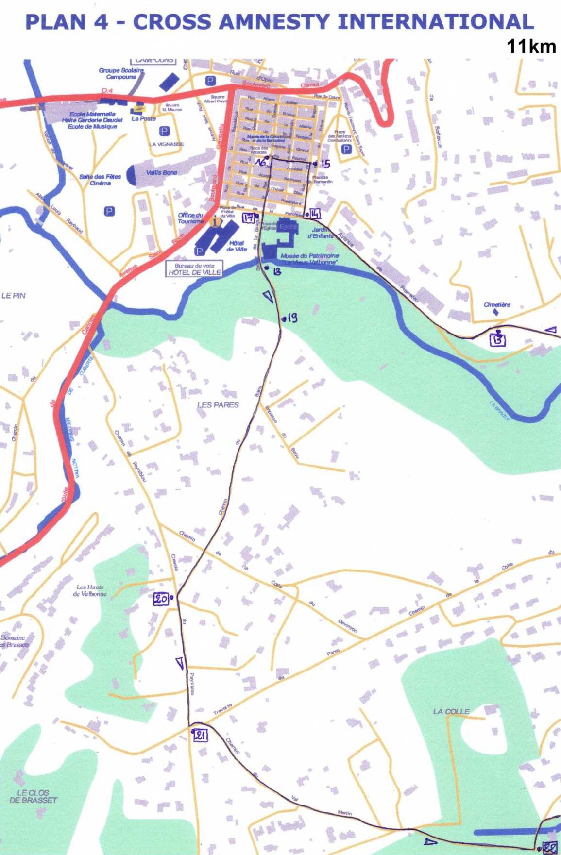 Zoom partie 4 du 11km